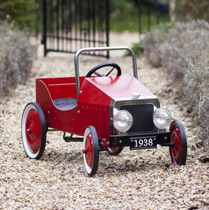 Vintage Pedal Car: Birthday Gift