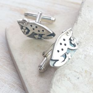 Friendly Frog Cufflinks - cufflinks