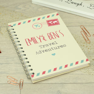 Personalised Ring Bound Travel Planner