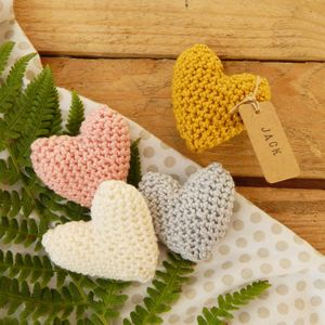 Crochet Heart Place Setting