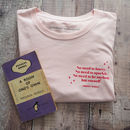 Pink Virginia Woolf 'Sparkle' T Shirt