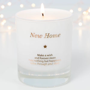 New Home Scented Candle - kitchen