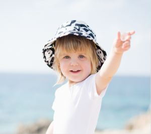 Children's Bucket Sun Hat