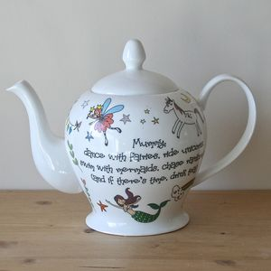 Personalised Magical Teapot