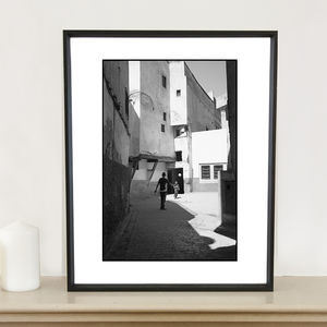 Football, The Medina, Fes Photographic Art Print