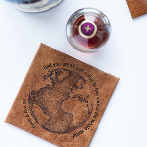 Dad You're My World Coaster - placemats & coasters