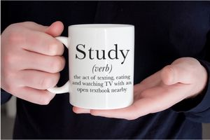 Definition Of Study Mug - gifts for teenagers