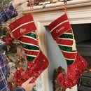 Personalised His And Hers Elf Boot Christmas Stockings
