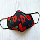 Poppy Face Mask With Hepa Filter And Pouch