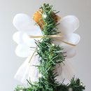 Gingerbread Angel Christmas Tree Topper