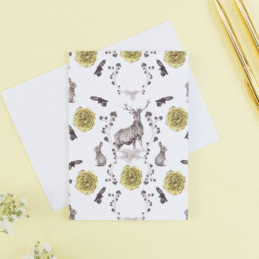 Woodland Note Card