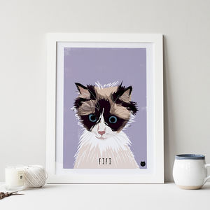 Bespoke Custom Cat Portrait