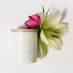 'Garden Party' Luxury Soy Floral Scented Candle