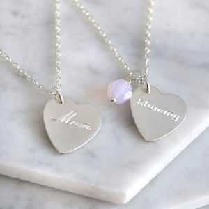 Mum Heart Necklace - what's new