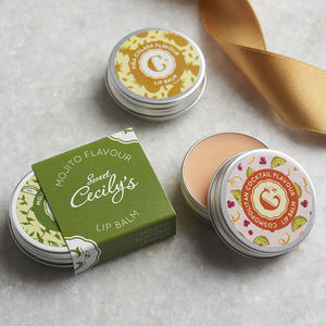 Cocktail Flavour Lip Balm - stocking fillers for her