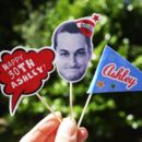 Personalised Birthday Toppers