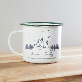 Personalised Dad Adventure Mug Gift