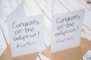 Adoption Card For Same Sex Parents