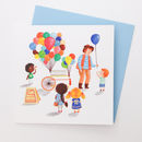 A Bright Balloons Greetings Card