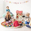 Storage Bag And Play Mat In One