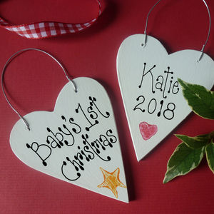 Baby's First Christmas - christmas decorations