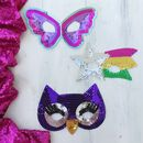 Sequin Party Masks For Children