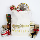 Personalised Merry Christmas Traditional Sack