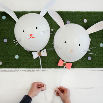 Easter Bunny Rabbit Balloon Kit