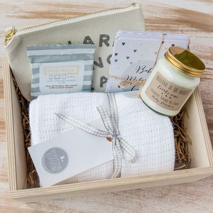 New Mum And Baby Gift Box - baby shower gifts