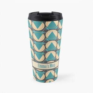 Personalised Patterned Travel Mug