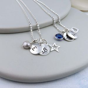 Secret Birthday Personalised Necklace - necklaces & pendants