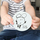 Personalised Child's Drawing Glass Coaster Gift