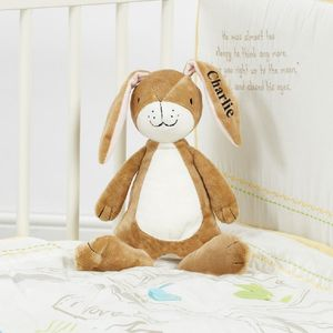 Guess How Much I Love You Plush Rattle Comforter Hare