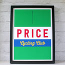 Design 2 Personalised Cycling Jersey Print