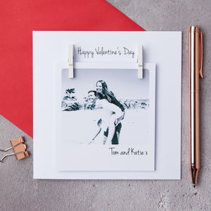 Personalised Photo Card - anniversary cards