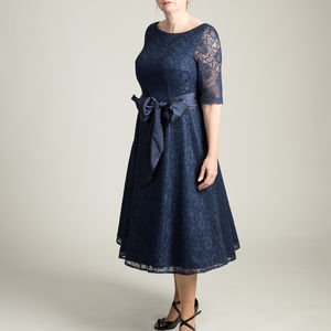 1950s Inspired Full Lace 'Grace' Dress