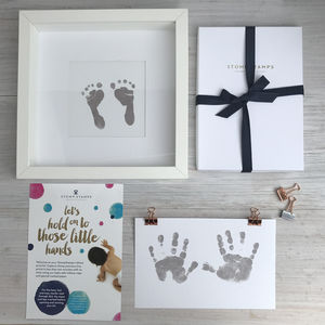 Daddy's Magic Inkless Handprint Footprint Kit - keepsakes
