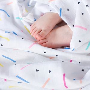 Sprinkles Muslin Swaddle Blanket - blankets, comforters & throws