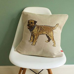 Border Terrier Feature Cushion