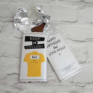 Keep On Cycling Shirt Chocolate - gifts for men