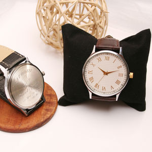 Personalised Wrist Watch For The Groom - personalised