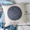 Personalised Constellation Cushion Cover