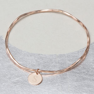 Create Your Own Amelie Personalised Charm Bangle - winter sale
