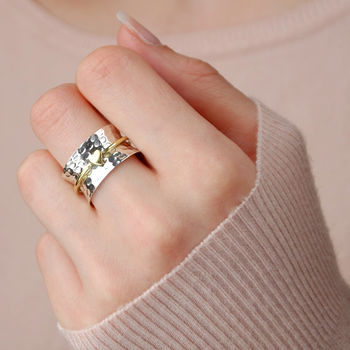 Amour Heart Spinning Ring