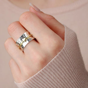 Amour Heart Spinning Ring - rings