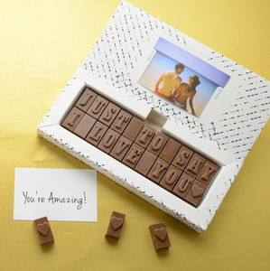 Chocolate Love Letter - for him