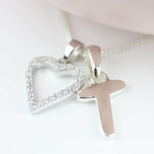 Personalised Children's Heart Pendant - necklaces & pendants