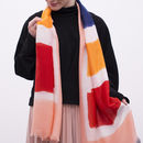 Personalised Summer Colourblock Scarf