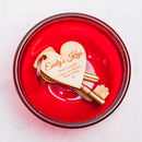 Personalised Love Keyrings