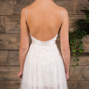 Jamie Lace Bridal Skirt